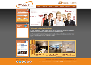 Click here to view Infinity Australia Group- website powered by EAC Web Services